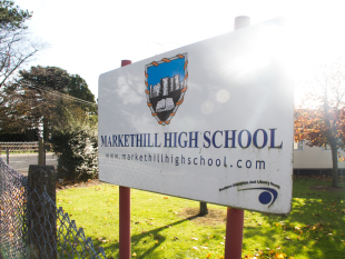 Markethill High School and MGMPR Ltd collaborate for media campaign.