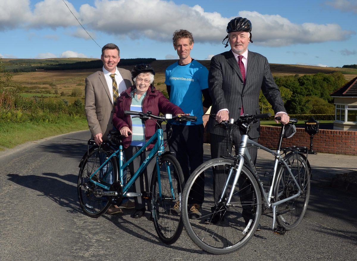 Cycle Sperrins initiative launched by MGMPR