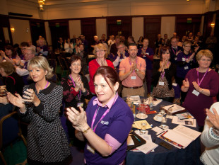 Teachers at last year's Northern Conference