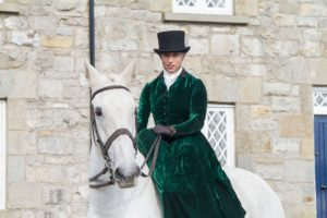 Caledon Village Georgian Festival welcomed the Side Saddle Association of Ireland to the festival.