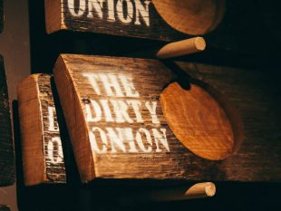 The Dirty Onion Boilermaker Club boards.