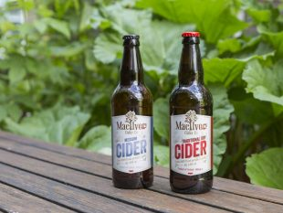 Mac Ivors Traditional Dry Cider and Medium Cider win prestigious Fine Farm Food Awards announced on Countryfile Live at Blenheim Palace. Picture by James Dobson