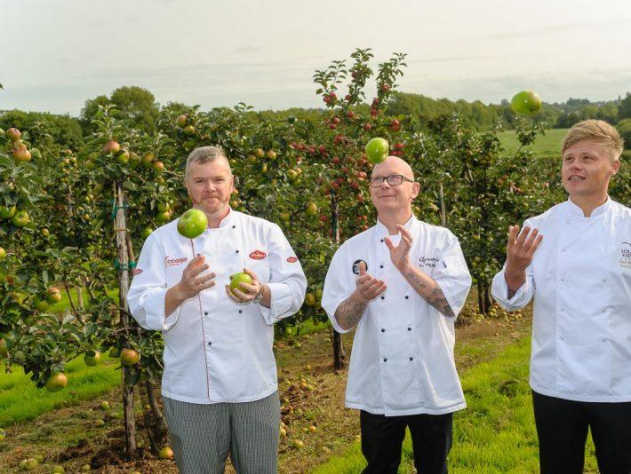 Chefs John White, Mervyn Steenson and Mark Winter