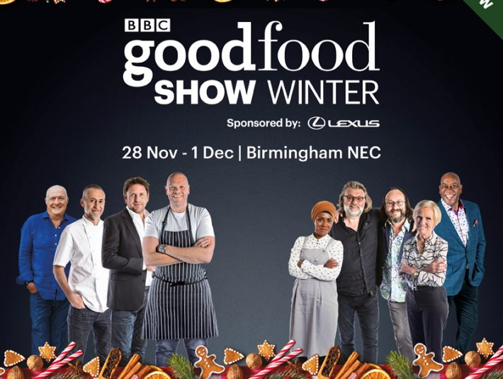 Symphonia Gin will be at the Good Food Winter Show at Birmingham's NEC 2019