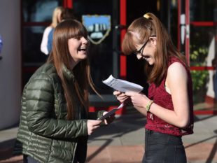 GCSE results in Markethill