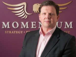 Tom Verner, Managing Director of The Momentum Group based in Bangor, R&D specialists