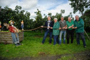At the launch of the Richhill Apple Harvest Fayre which takes place on October 28.