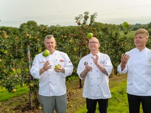 Chefs John White, Mervyn Steenson and Mark Winter